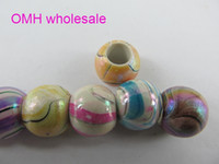 Wholesale OMH X12mm Mix colors Jewelry Accessories DIY Acrylic Plastic Beads ZL612