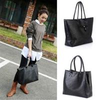 american shopper - 2016 Ladies Large Handbags Women s Faux Leather Designer Shopper Shoulder Bags Tote