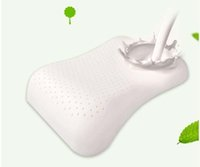 massage bed - Natural Latex Pillows Adult Bedding Health Care Neck Messager Pillow Whit Case For Hospital Home Office LGC12