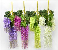 Wholesale 100cm Length Hanging Wisteria Flower Wedding Flower Party Decorative Glicine Flower