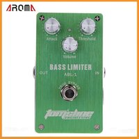 bass guitar distortion - Top Quality Aroma ABL Bass Limiter Electric Guitar Bass Effect Pedal Aluminum Alloy Housing Ture Bypass Design