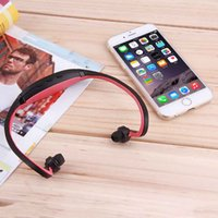 Wholesale Sport Wireless stereo microphone Handsfree Headset Headphone for SD TF Card FM MP3 Music Player Newest