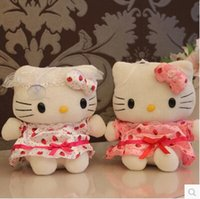 Wholesale Baby Toy cm Plush Cat The Hello Kitty Toys Kitty For Children Kids Girls Classic Toys Stuffed Animals Anime Soft Toy Doll M031
