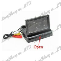 Wholesale Mini CH quot inch LCD TFT Folding Style Rear View Monitor Rearview Reverse Backup Camera