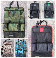 Wholesale Pocket Storage Bag Car Auto Vehicle Seat Back Hanger Holder Multi Pocket Holder back Organizer LJJK10