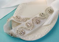 Wholesale Long cm Fashion New Arrival Beading Crystal Bridal Accessories Bridal Sashes Belt Wedding Events For Women