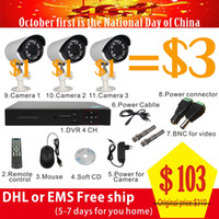Wholesale Video Surveillance CCTV system HDMI CH tvl Security Camera System IR Outdoor Surveillance Kit