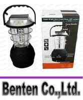 Wholesale 3 Modes Hand Crank Solar Dynamo Super Bright LED Camping Lantern LLFA4900F