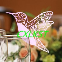 animal wine holder - Name Place Card Holder Wedding Party Table Number Quality Wine Glass Decoration Good Quality Brand New