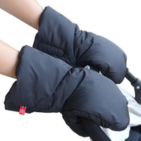 Wholesale Winter Baby stroller Gloves Water proof Cotton outdoor accessories hand muff