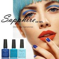 Wholesale Sheer Nude Sapphire Nail Gel Newest Fashion UV Gel Polish Color ML