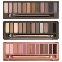 Wholesale Hot Eyeshadow Palette The st nd rd Generation Makeup Newest Colors Cosmetic Shimmer Matte Eye Shadow With Brush freehipping by dhl HOT