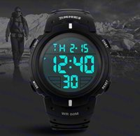 Wholesale SKMEI Brand New Sports Watches Men LED Electronic Digital Watch M Swim Outdoor Casual Military Army Watch Hot Sale