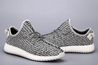 Cheap 2016 New yeezy boost 350 Running Shoes Fashion Women Men Teenager Kanye West milan Running Sports outdoor Shoes