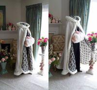 wedding capes - 2015 Stunning Bridal Capes Wedding Cloaks Faux Fur Perfect For Winter Wedding Bridal Cloaks Cape Wedding Cape
