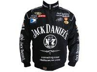 automobile clothing - F1 Men Suit Jack Daniel Jackets Autumn And Winter Cotton Racing Clothes Daines Motorcycle Automobile Suit Men s Long sleeved Jackets M XL