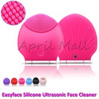 Wholesale Waterproof Portable Ultrasonic Facial Cleaner Electric Face Cleansing Brush Sonic Massage Skin Care Spa Beauty Cleaning Device