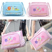 Wholesale Hot Sale Baby Kids Nappy Mummy Bag Maternity Handbag Diaper Bags Baby Tote Durable Mother Baby Bag AB198