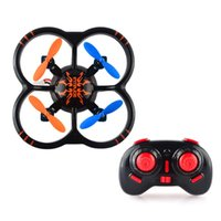 Wholesale NIHUI U207 G Axis Gyro Smallest RC Quadcopter Black Mini RC Drone Helicopters Toys for Kid s Birthday Gift