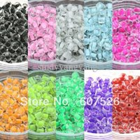 Cheap 2MM 50G 10 colors mix Fashion DIY Czech glass Loose Spacer Seed beads garment accessories and jewelry findings