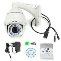 Wholesale New P HD ip camera x mm Optical Zoom H ptz wifi network camera Outdoor waterproof Megapixel CCTV Dome Camera