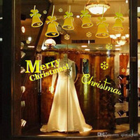 Wholesale Free DHL Home decoration wall decals Christmas decorations Window Stickers mural wall stickers home decor wallpaper LA73