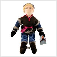 Wholesale EMS Plush Toys Kristoff Dolls Cartoon toy for kids CM children stuffed dolls