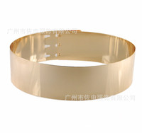 Wholesale New Fashion Gold Metal Belt New Arrival Stylish Dress Sash Formal Evening Dresses Long Prom Gowns