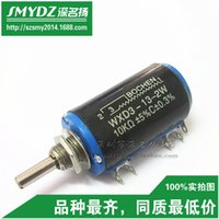 Wholesale WXD3 W K multi turn wirewound potentiometers European precision potentiometers Spot