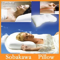 Wholesale High Quality New Cool Pillow Sobakawa Cloud Cool Micro Bead Bed Pillow Foam Particle Hypnotic Effect Good Sleeping
