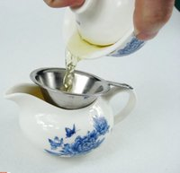 Wholesale Stainless Steel Double layer Fine Mesh Tea Strainer