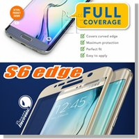 anti cover - For Iphone S7 Edge S6 Edge Plus Note edge LG G5 Iphone D Curved Screen Protector tempered glass Full Cover Curved Glass With Retailbox