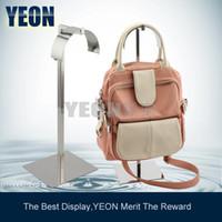 Wholesale YEON Fashion bag display stand polish handbag display rack holder BR0015 bulk order available