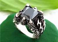 ancient china foods - Sell agate man punk fashion and personality tide restoring ancient ways people black titanium steel ring single domineering food rings
