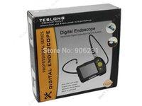 batteries borescope - NTS100 quot Endoscope Borescope mm Snake Inspection Tube Camera DVR Li on Battery Video Recorder