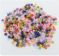 Wholesale OMH mm multi colored Czech glass beads interval beads jewelry making Loose beads ZL536