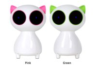 Wholesale Lovely Cat W Portable Speaker In line Volume Adjustment mm Hi fi Speaker USB Power mm Audio Jack Powerful Bass and Treble