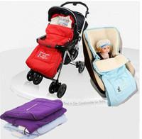 Wholesale Newborn Envelope winter multifunctional baby sleeping bag for stroller kids pram sleeping bag toddler Sleepsacks for car seat