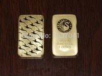 Wholesale Sample order oz Gold Bar Perth Mint Gold Bar Non magnetic copy coin