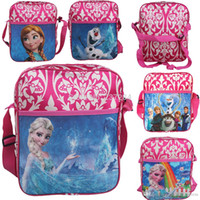 Lace best school backpacks kids - 2015 Fashion Newest Mochila Frozen Kids Children Travel Backpack Shoulder Bags School Bags for teenagers Christmas Best Gifts