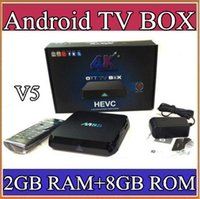 media player v5 - V5 M8S K Smart TV Box Amlogic S812 Quad Core GB GB ROM XBMC Media Streamer Player IPTV Mini PC D Movie Games Sports Video AV TV