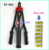 Wholesale 17 quot high quality mm hand riveter pull rivet gun nut riveting tools with one die BT