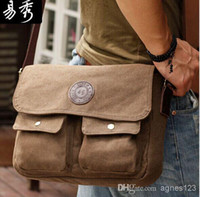 Where to Buy Mens Canvas Vintage Messenger Bags Online? Where Can ...