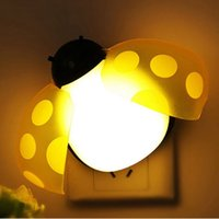 beatles night - Beatles LED Night Light Intelligent Sound Light Control Put in Wall Lamp with Socket Cute Small Sleep Lamp for Living Room Bedroom