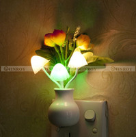 baby vases - Dream Mini Rose Vase Night Light Sensor Baby Room Bed Lamp Home Decor