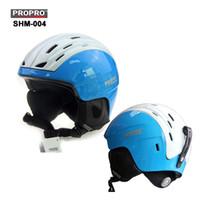 Wholesale New Brand SHM ABS EPS ski and Integrally molded professional Snowboard helmet men Skating Skateboard helmet