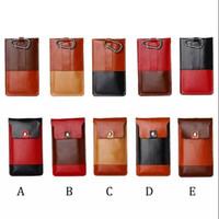 Compra Clips de bolsas-Universal de múltiples funciones de deportes de 5,5 pulgadas teléfono funda bolsa con clip de cinturón para el iPhone 6 más S6 S6 Edge teléfono celular