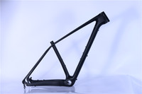 Wholesale cheap Carbon Frame MTB er Disc Post Mount k glossy Finish Size17 and15 For Bike Bicycle years warranty