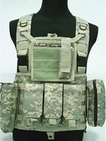 acu assault - Fall FSBE Load Bearing Molle Assault Vest Digital ACU Camo