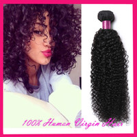afro kinky human hair - 8A Mongolian Kinky Curly Hair Weave Bundles Curly Human Hair Extensions Mongolian Virgin Hair Afro Kinky Curly Hair Extension Natural Black